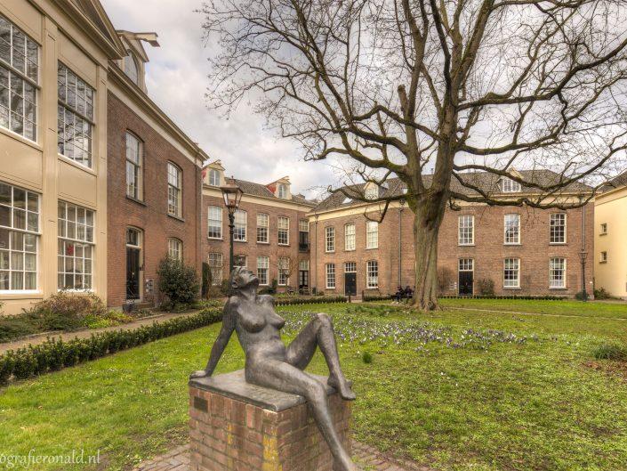 Oude Bornhof Binnenplaats Zutphen